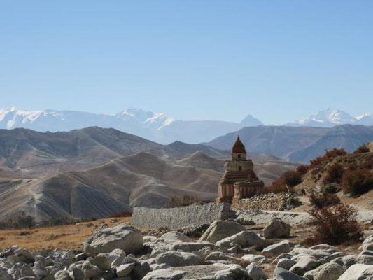 Stupa nördlich von Lo Mantang