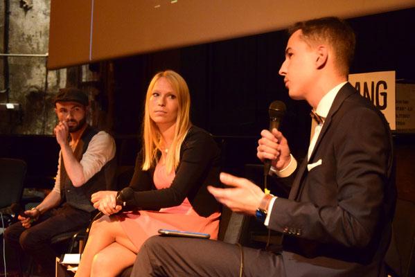 Film-Fachjury: Arvid Neid, Ines Göbel & Florian Arndt                                 (Sons Of Motion Pictures - Filmproduktion Leipzig)