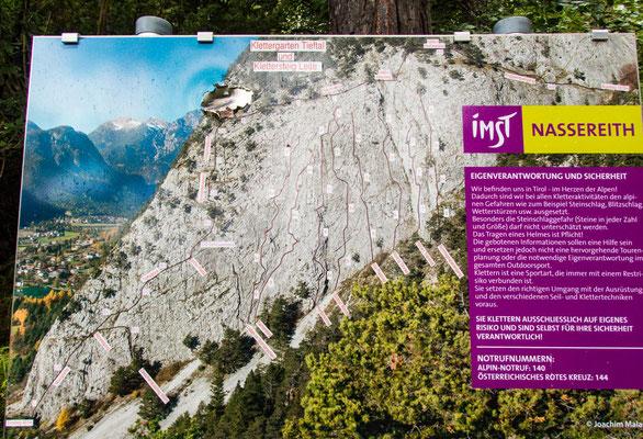 Klettersteig Geierwand : Vier auf einen streich puls der freiheit