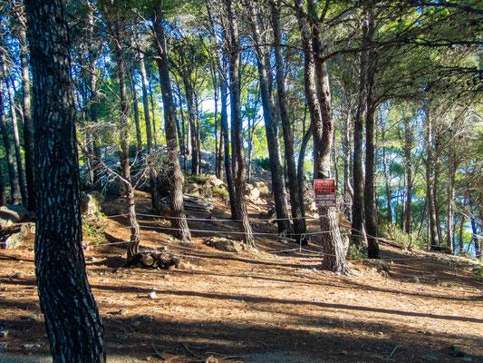 Mehrtagestrekking auf dem GR 221 auf Mallorca - Etappe 4 der Wanderung von Estellencs nach Banyalbufar