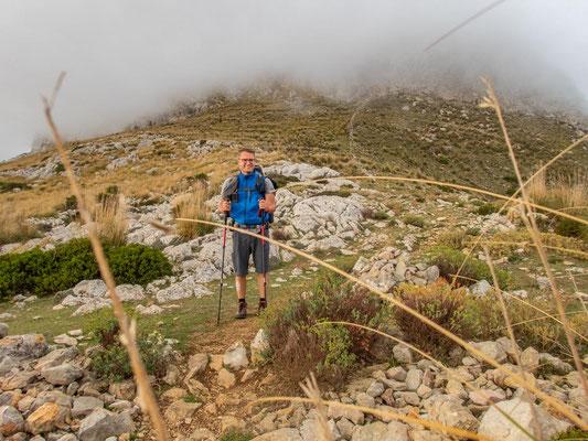 Mehrtagestrekking auf dem GR 221 auf Mallorca - Etappe 3 der Wanderung Ses Fontanelles nach Estellencs