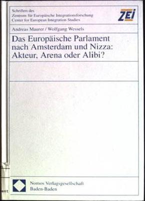 Das Europäische Parlament nach Amsterdam und Nizza