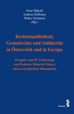Rechtsstaatlichkeit, Grundrechte und Solidarität in Österreich und Europa