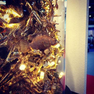 """Diorama """"der goldene Garten"""""""