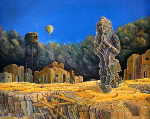 La ultima Plegaria - Oleo 80x100 (2007) - Daniel Dankh