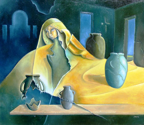 Alquimia - Oleo 60x70 (2007) - Daniel Dankh