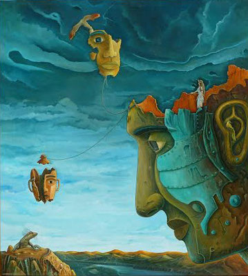 Amor ancestral ( Oleo, 90x80 ) - Daniel Dankh - 2013