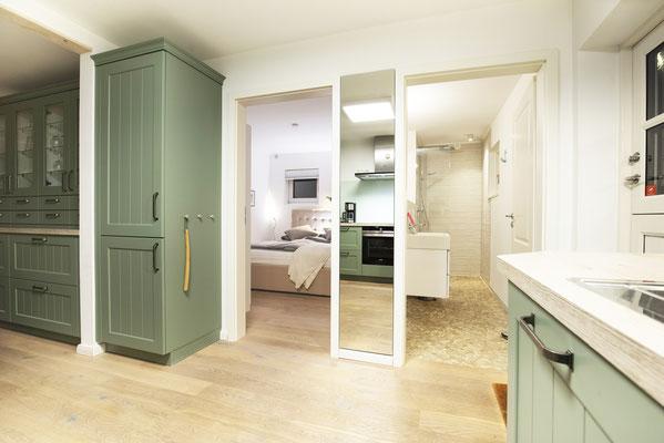 Küche und Essbereich - Ferienhaus JohannisNest St. Peter ...