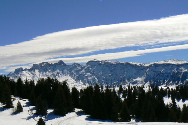 Winterlandschaft Dolomiten...