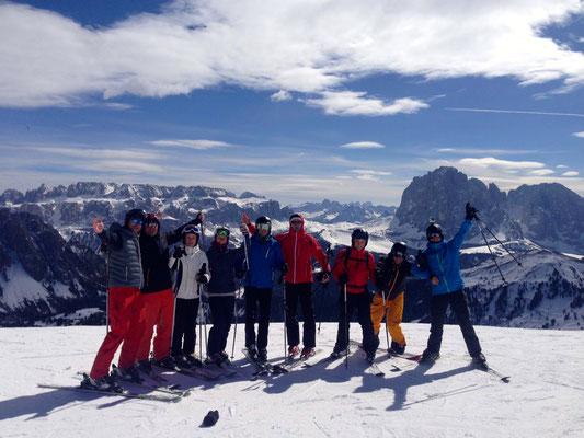 Von links: Steffen, Hagen, Sandra, Cathy, Trotti, Stresi, Karsten, Dani, Tobi...