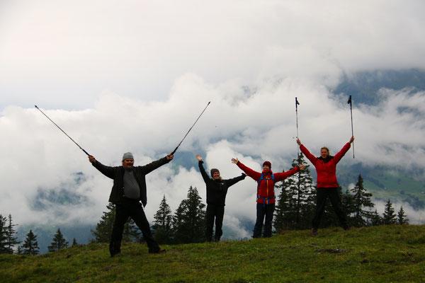 Nachmittagswanderung - Wandern macht Spaß ;-)...