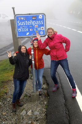 Sauwetter am Sustenpass...