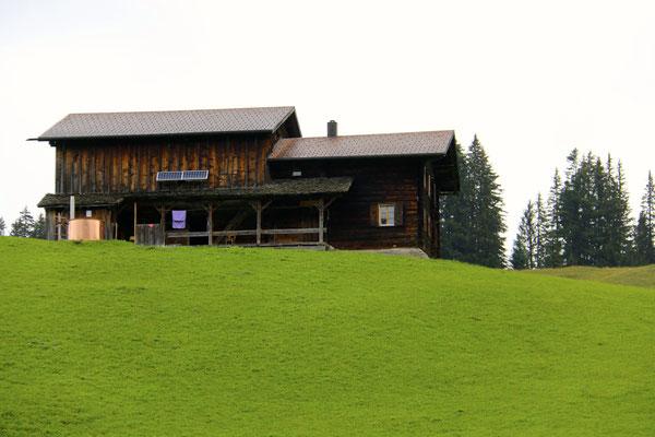 Furna - Maiensäss... unsere Hütte...