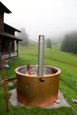 Hotpot noch warm am Morgen...