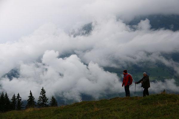 Nachmittagswanderung - imposantes Panorama...