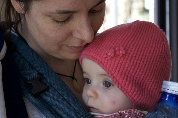 Lene mit Mama Janina...