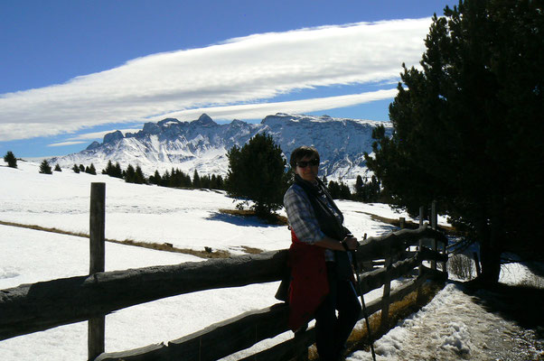 Maggi unterwegs im Winterwunderland...