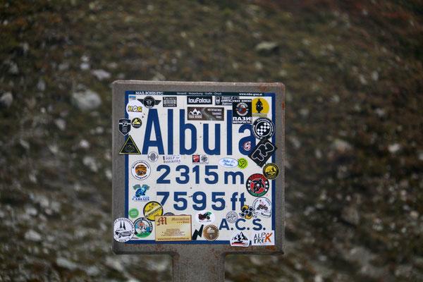 Albulapass...