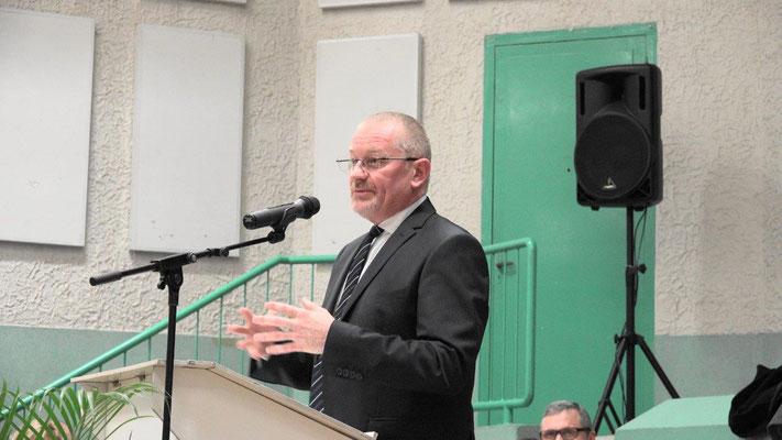 Elu lors des dernières élections législatives, Eric Girardin est le député LaREM de la 3ème circonscription de la Marne.