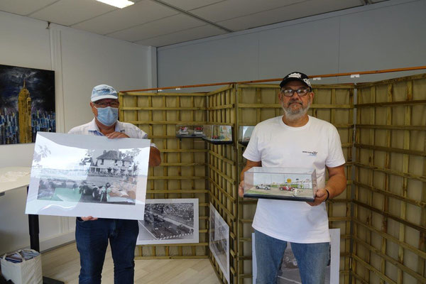 De gauche à droite : Philippe Dumont et Jean-Claude Gilbaut.