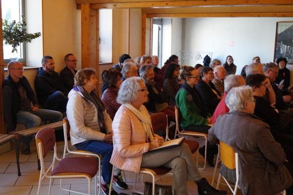 Habitants, sympathisants, élus, et artistes se sont retrouvés pour le lancement de la 2ème édition de Condé Village d'Art.