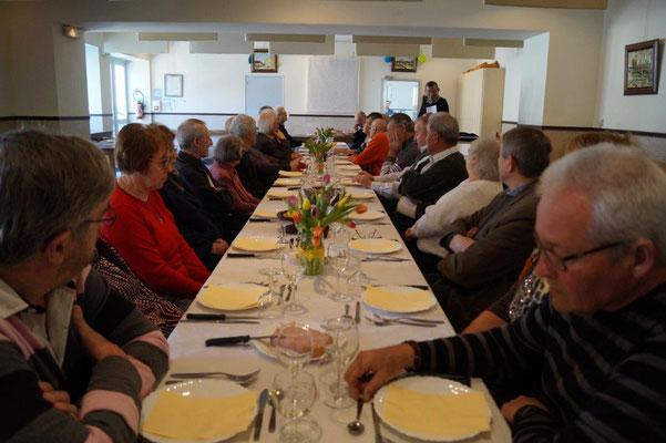 28 aînés valcampaniens ont répondu à l'invitation de la municipalité.