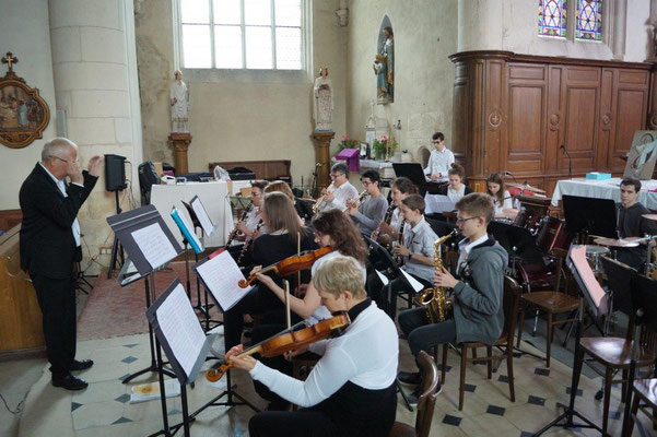 L'orchestre Junior...