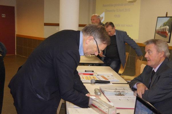 Jacques Krabal renouvelle son adhésion 2016 à l'association TFBCO.