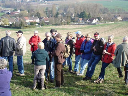 Les randonnées organisées par l'association sud axonaise SLC font souvent le plein de participants.