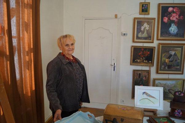 Yvette Lambert a exposé dans l'Atelier Libre de Peinture... il y a 10 ans !