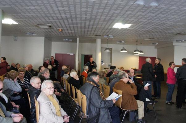 Près de 70 adhérents et sympathisants se sont retrouvés salle de la Halle aux veaux à Montmirail.