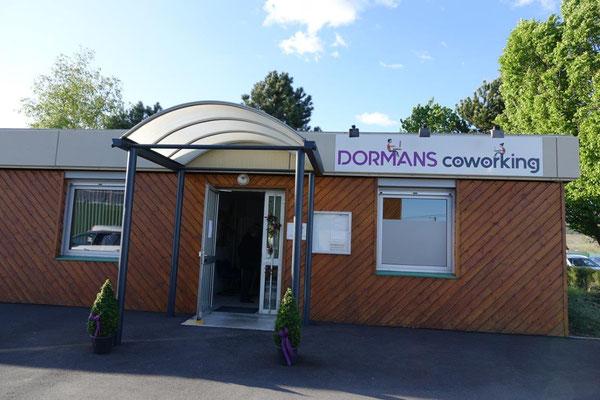 Dormans coworking est situé 4 rue de la Gravière à Dormans.