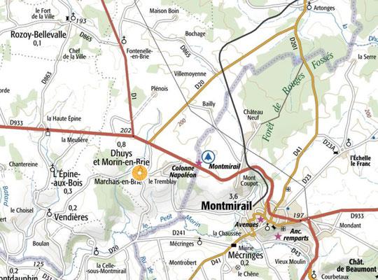 Dhuys et Morin-en-Brie regroupe les communes d'Artonges, Fontenelle-en-Brie, La Celle-sous-Montmirail et Marchais-en-Brie.