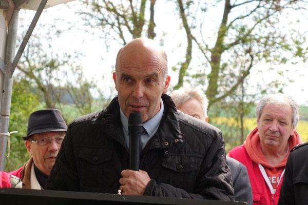 Étienne Dhuicq, maire de Montmirail.