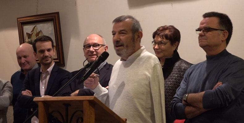 Bruno Lahouati se représente à l'élection municipale de mars 2020.