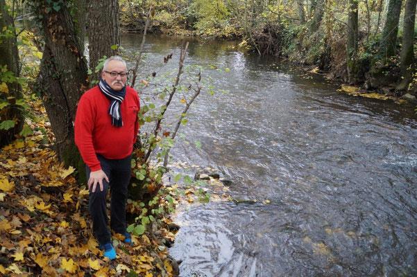 Jean-Michel Picot est déterminé à connaître la vérité sur la pollution du Surmelin.