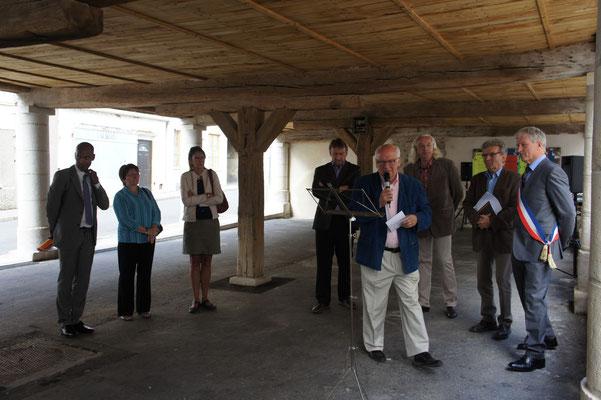 Condé- en- Brie Inauguration des halles restaurées 28 août 2015