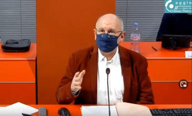 Étienne Haÿ, président de la CARCT.