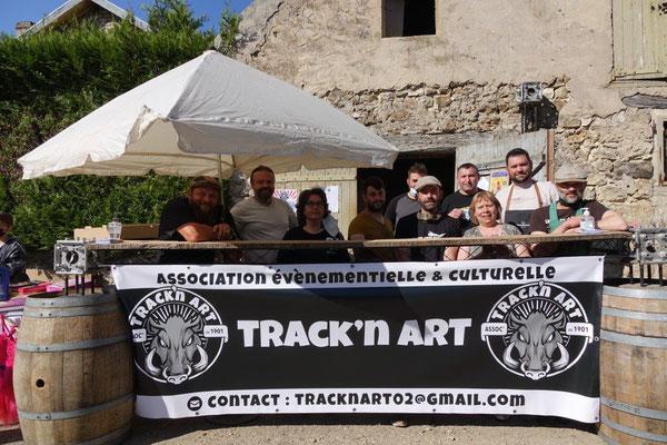 L'association Track'n art a entamé sa première année d'existence par un beau succès.