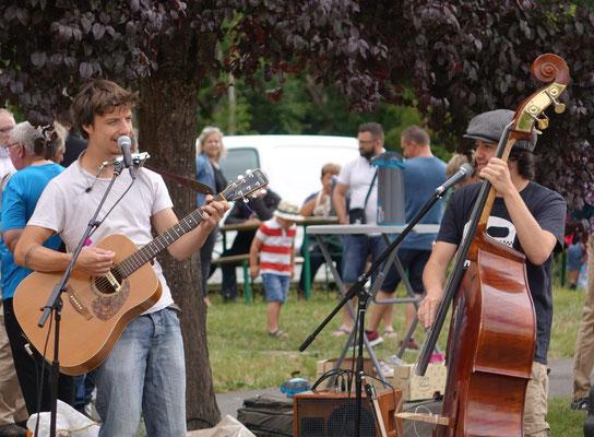 Les Fonds de Bouteilles ont mis en musique ce second rendez-vous local et de proximité.