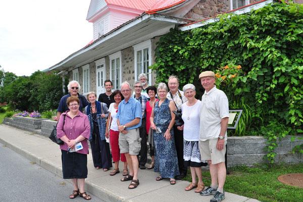 Membres de l'Association Québécoise des descendants de Marin Jannot dit Lachapelle