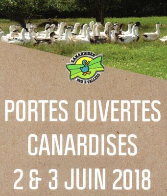 Samedi 2 et dimanche 3 juin : Les Canardises des 3 Vallées ouvrent leurs portes.