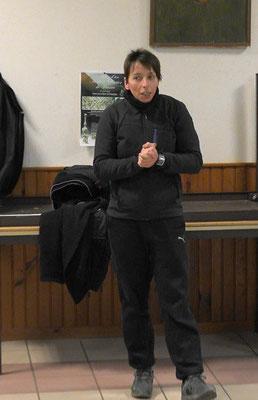 Adeline Levillain, présidente de l'Association sportive Odon' Attitude