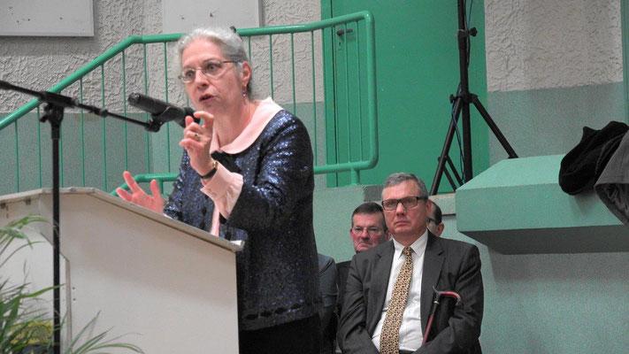 Elle occupe le poste depuis le 4 décembre 2017. Odile Bureau est la sous-préfète de l'arrondissement d'Epernay.