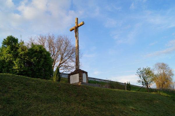 Dimanche 16 avril à La Chapelle-Monthodon, la veillée bleue se déroulera, ici, au monument de La Verdure.