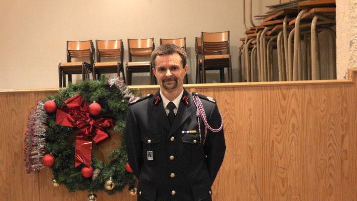 Le Sergent Xavier Loiseau promu au grade de Sergent-chef