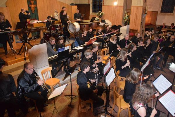 Ecole intercommunale de musique de Crézancy-Jaulgonne : l'orchestre.