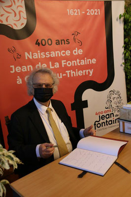 L'académicien Amin Maalouf, parrain de l'événement.