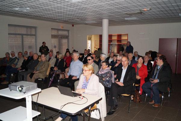 Plus de soixante adhérents ont assisté à l'assemblée générale annuelle de TFBCO.
