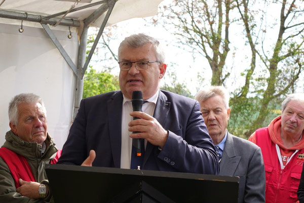 Christian Bruyen, président du Conseil départemental de la Marne.